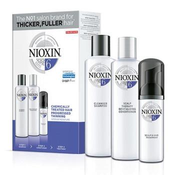 Набор Система 6 для химически обработанных истонченных волос NIOXIN