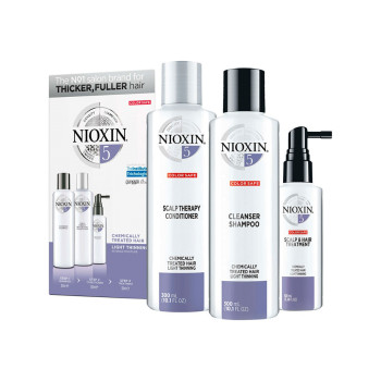 Набор Система 5 для химически обработанных волос с тенденцией к истончению NIOXIN