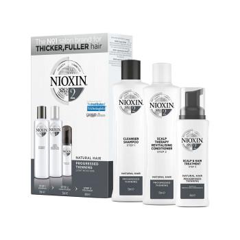 Набор Система 2 для натуральных истонченных волос NIOXIN