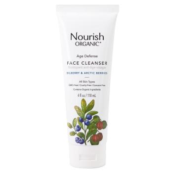 """Age Defense Face Cleanser Антивозрастной очищающий гель для умывания """"Арктические ягоды"""" NOURISH ORGANIC"""