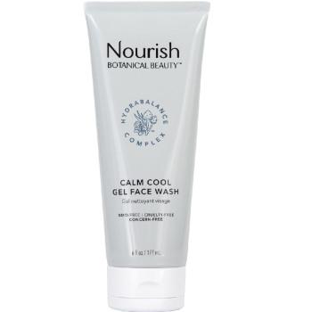 """Calm Cool Gel Face Wash Гель для умывания """"Заряд свежести"""" NOURISH ORGANIC"""