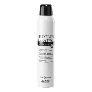 Лосьон для восстановления сухих, пористых и поврежденных волос с кератином и азотом Be Color Nitrogenated Keratin BE HAIR