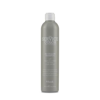 Шампунь-корректор для обесцвеченных волос Service Color NO YELLOW Shampoo NOOK