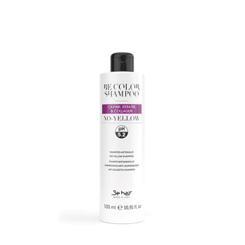 Шампунь с нейтрализацией желтезны Be Color NO YELLOW Shampoo BE HAIR