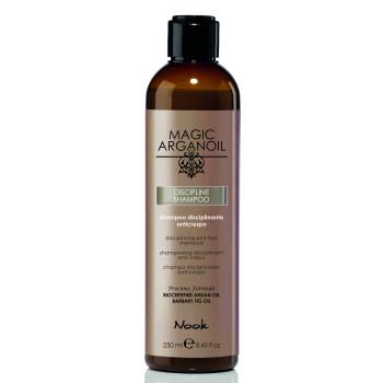 Шампунь для ухода за непослушными волосами Disciplining anti-frizz Shampoo NOOK