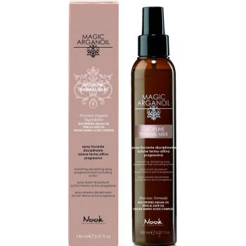 Разглаживающий спрей для непослушных волос с термозащитным действием Disciplining thermal smooting spray NOOK