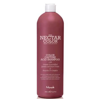 Шампунь фиксирующий для волос после окрашивания Color Capture Acid Shampoo NOOK