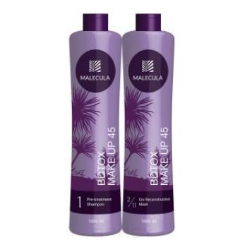 Набор ботокс-восстановление для волос Botox Make Up 45 MALECULA