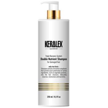 Шампунь дуо-питание высокоинтенсивный Keralex Double Nutrient Shampoo PROTOKERATIN