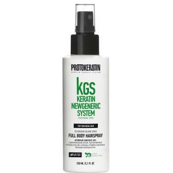 Спрей для объема и текстуры тонких волос Full Body Hairspray PROTOKERATIN