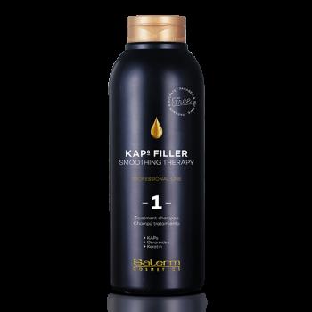 Шампунь- уход Kaps Filler /Treatment shampoo Kaps Filler SALERM
