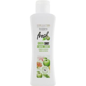 Шампунь для волос Biokera Natura Fresh Green Shot SALERM