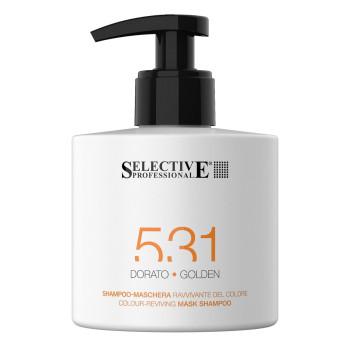 ЗОЛОТИСТЫЙ Шампунь-маска для возобновления цвета волос 531 SELECTIVE PROFESSIONAL