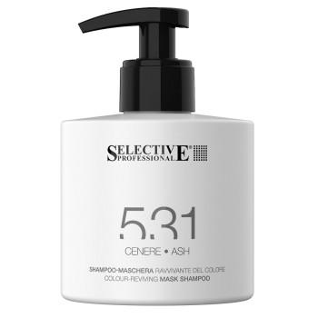 ПЕПЕЛЬНЫЙ Шампунь-маска для возобновления цвета волос 531 SELECTIVE PROFESSIONAL