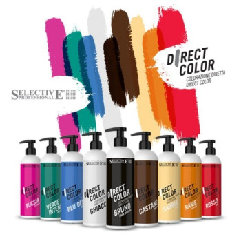 Ухаживающий краситель прямого действия Direct Color с кератином SELECTIVE PROFESSIONAL