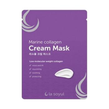 Кремовая маска Marine Collagen  28 г х 5 шт LA SOYUL