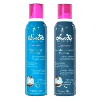Набор шампунь и кондиционер мусс для питания NORMAL Sweet Hair Professional
