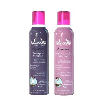 Набор шампунь и кондиционер мусс для реконструкции волос RECONSTRUCTION Sweet Hair Professional